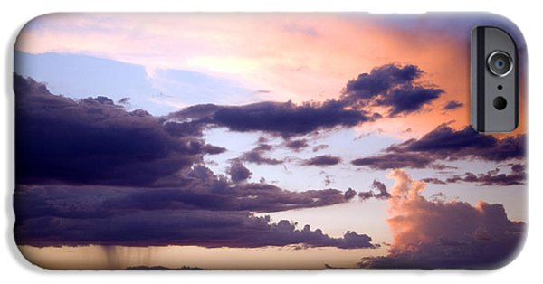 Sedona iPhone Cases - Sedona summer storms iPhone Case by Anthony Citro