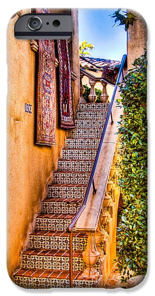 Sedona iPhone Cases - Sedona Tlaquepaque Shopping Center II iPhone Case by Jon Berghoff