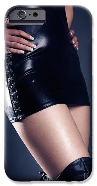 Seductive iPhone Cases - Seductive Woman iPhone Case by Oleksiy Maksymenko