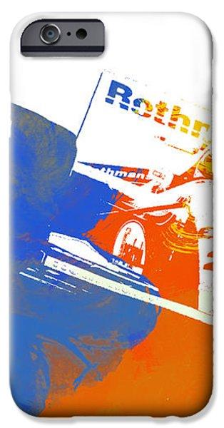 Senna iPhone Case by Naxart Studio