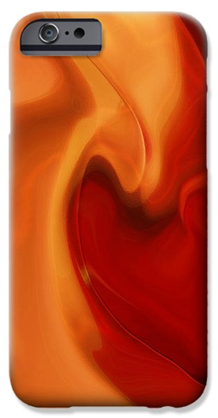 Sensual Love iPhone Case by Linda Sannuti