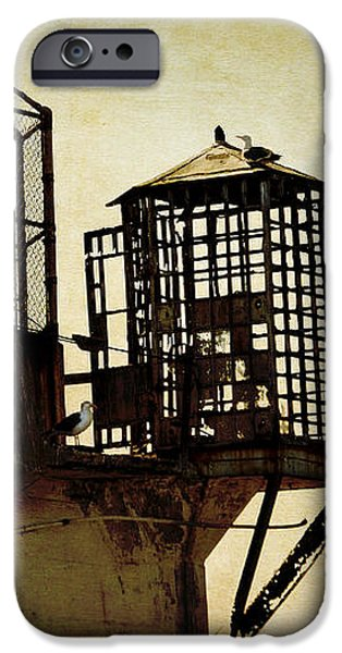 Sentry box in Alcatraz iPhone Case by RicardMN Photography