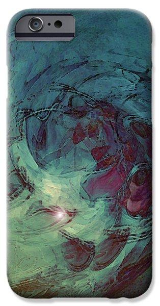 Serpent Head iPhone Case by Linda Sannuti