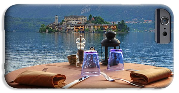 Table Top iPhone Cases - Set Table With A View iPhone Case by Joana Kruse