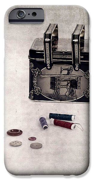 Sew iPhone Cases - Sewing Box iPhone Case by Joana Kruse