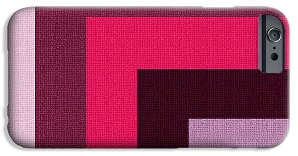 Modern Abstract Digital Art Digital Art Digital Art iPhone Cases - Shades of Joy iPhone Case by Bonnie Bruno