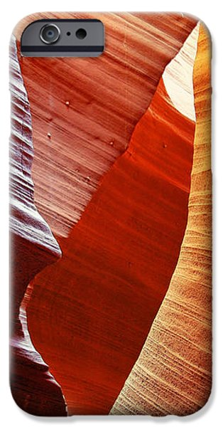 Shades of red - Antelope Canyon AZ iPhone Case by Christine Till