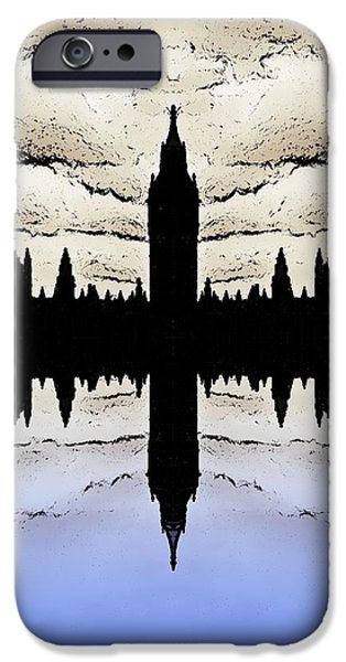 Shadow Goverment iPhone Case by Sharon Lisa Clarke