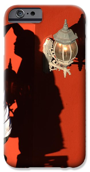 Painter Photographs iPhone Cases - Shadow Painter iPhone Case by Greg and Chrystal Mimbs