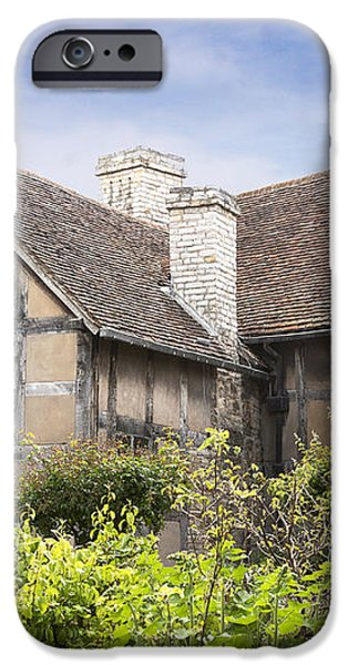 Shakespeare's birthplace. iPhone Case by Jane Rix