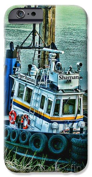 Shaman Tug-HDR iPhone Case by Randy Harris