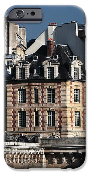 Shapes in Paris iPhone Case by John Rizzuto
