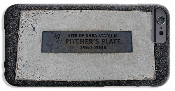 Recently Sold -  - Mounds iPhone Cases - Shea Stadium Pitchers Mound iPhone Case by Rob Hans
