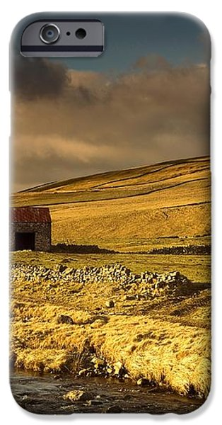 Shed In The Yorkshire Dales, England iPhone Case by John Short