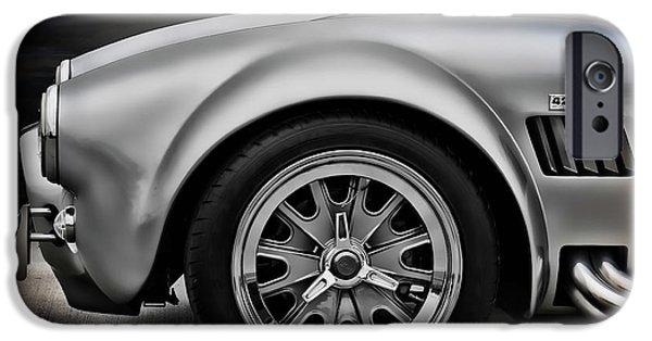 Cars Digital Art iPhone Cases - Shelby Cobra GT iPhone Case by Douglas Pittman