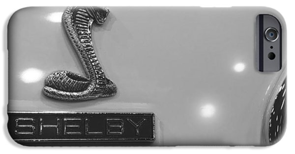 Indy Car iPhone Cases - Shelby iPhone Case by Gordon Dean II