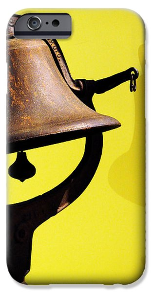 iPhone Cases - Ships Bell iPhone Case by Rebecca Sherman