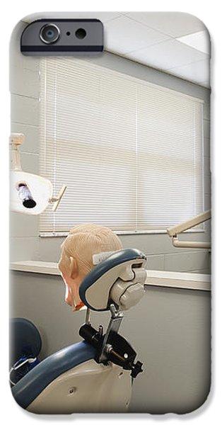 Shot of Room in Dental School iPhone Case by Skip Nall