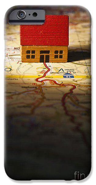 Buildings iPhone Cases - Show Me The Way To Go Home iPhone Case by Jan Bickerton