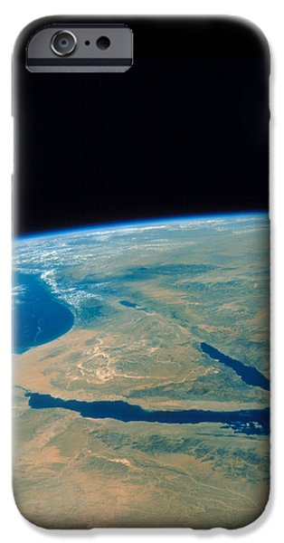 Shuttle Photograph Of The Middle East iPhone Case by Nasa