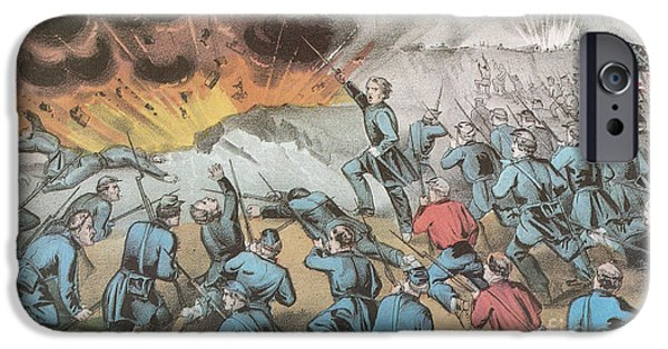 4th July Photographs iPhone Cases - Siege And Capture Of Vicksburg, 1863 iPhone Case by Photo Researchers