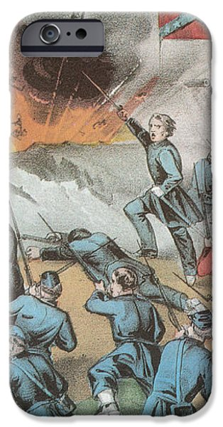 Siege And Capture Of Vicksburg, 1863 iPhone Case by Photo Researchers
