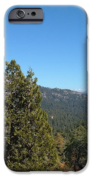 Sierra Nevada Mountains 2 iPhone Case by Naxart Studio