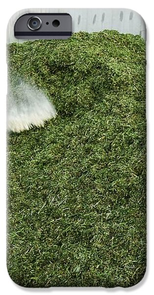 Silage Fermentation iPhone Case by Photostock-israel