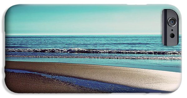 North Sea iPhone Cases - Silent Sylt - Vintage iPhone Case by Hannes Cmarits