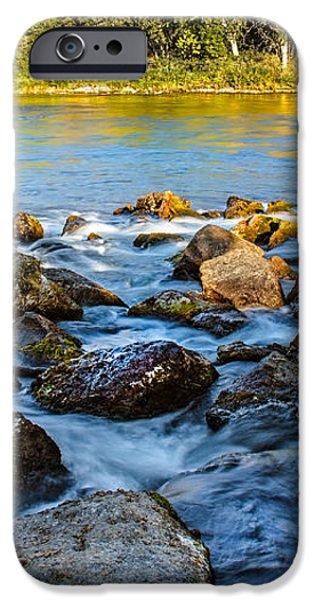 Silk Water iPhone Case by Robert Bales
