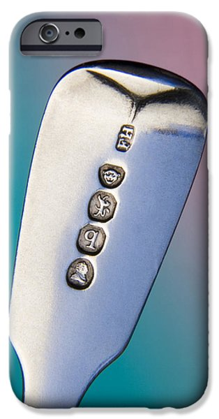Sterling Silver iPhone Cases - Silver Hallmarks, 1831 iPhone Case by Sheila Terry