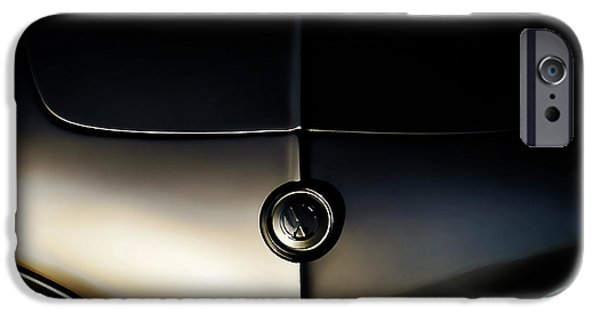 Volkswagen iPhone Cases - Silver Shadow iPhone Case by Douglas Pittman