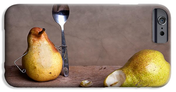 Pears iPhone Cases - Simple Things 14 iPhone Case by Nailia Schwarz