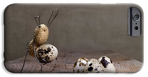 Strange iPhone Cases - Simple Things Easter 03 iPhone Case by Nailia Schwarz