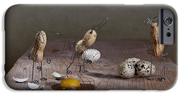 Small iPhone Cases - Simple Things Easter 04 iPhone Case by Nailia Schwarz