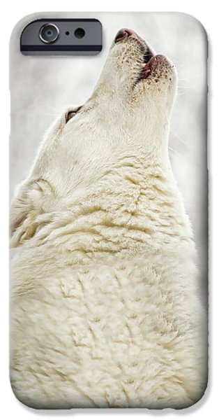 Gray Hair iPhone Cases - Singing iPhone Case by Joye Ardyn Durham