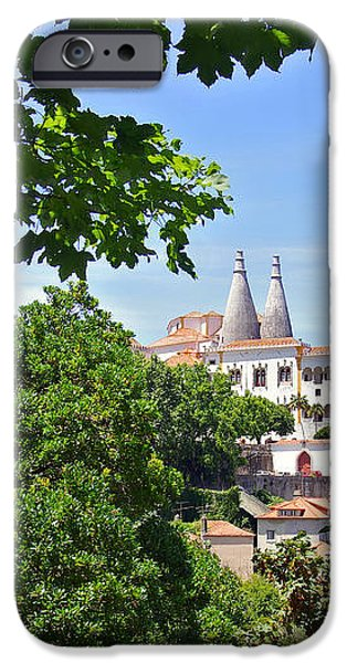 Sintra National Palace iPhone Case by Carlos Caetano