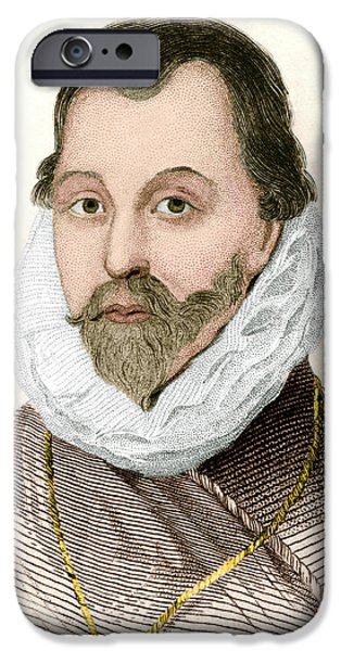 Sir Francis Drake, English Explorer iPhone Case by Sheila Terry