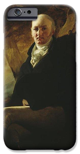 Nineteenth iPhone Cases - Sir James Montgomery iPhone Case by Sir Henry Raeburn
