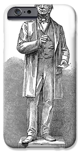 SIR ROWLAND HILL (1795-1879) iPhone Case by Granger