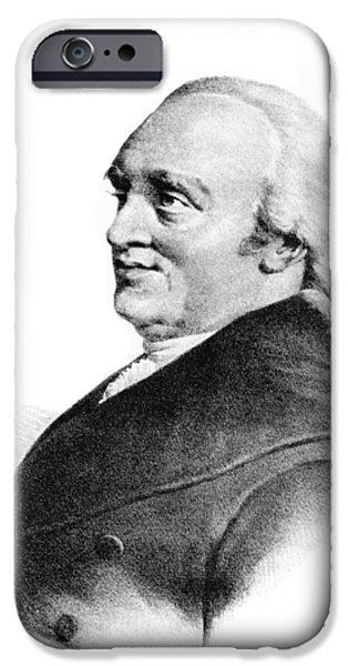 Sir William Herschel, British Astronomer iPhone Case by