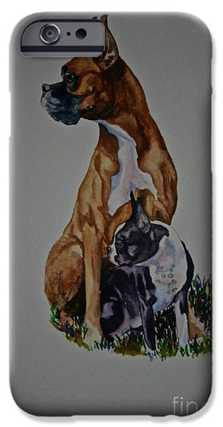 Sister Story iPhone Case by Susan Herber