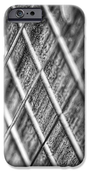 Six strings iPhone Case by Scott Norris