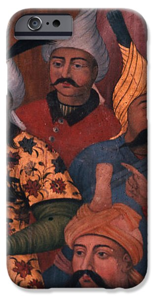 Six sultans in Iran iPhone Case by Carl Purcell