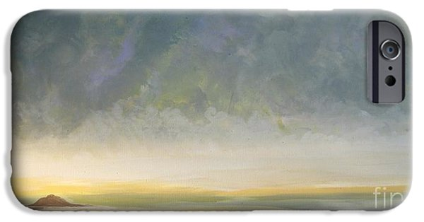 Storm Clouds Cape Cod iPhone Cases - Skaket - Waiting on the Storm iPhone Case by Jacqui Hawk