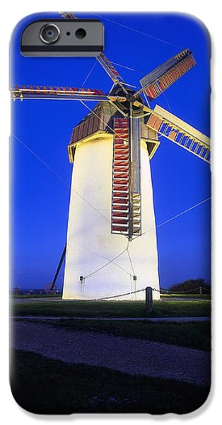 Skerries Mills Co Fingal, Ireland iPhone Case by The Irish Image Collection