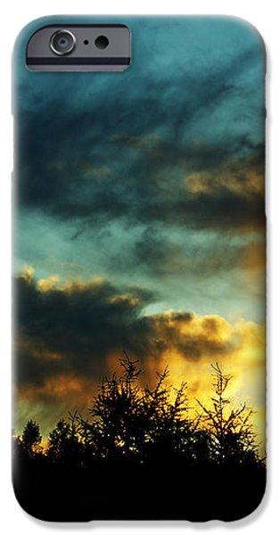 Sky Attitude iPhone Case by Aimelle