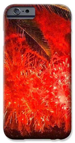 Sky Fire iPhone Case by Debra and Dave Vanderlaan