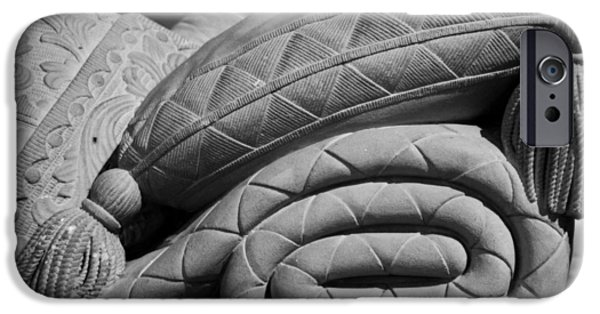 Slumber iPhone Cases - Sleep Eternal iPhone Case by Lisa Knechtel