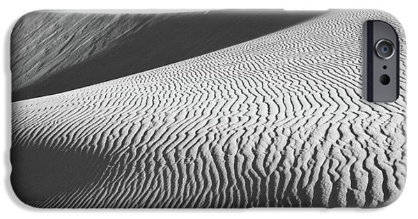 Sand Patterns iPhone Cases - Slipping Through My Fingers iPhone Case by Laurie Search